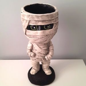 NWT Melvin the Mummy candy bowl statue